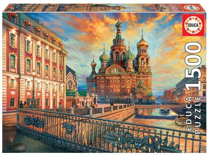 Puzzle educa 1500 piezas san petersburgo