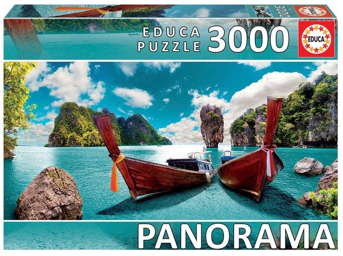 Puzzle educa 3000 piezas phuket, tailandia panorama