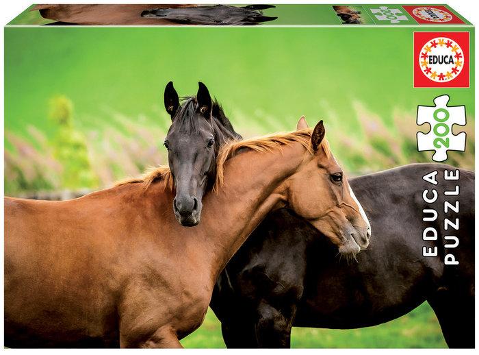 Puzzle 200 piezas caballos