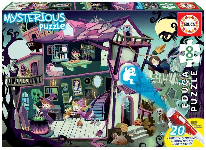 Puzzle 100 piezas misterio junior casa encantada