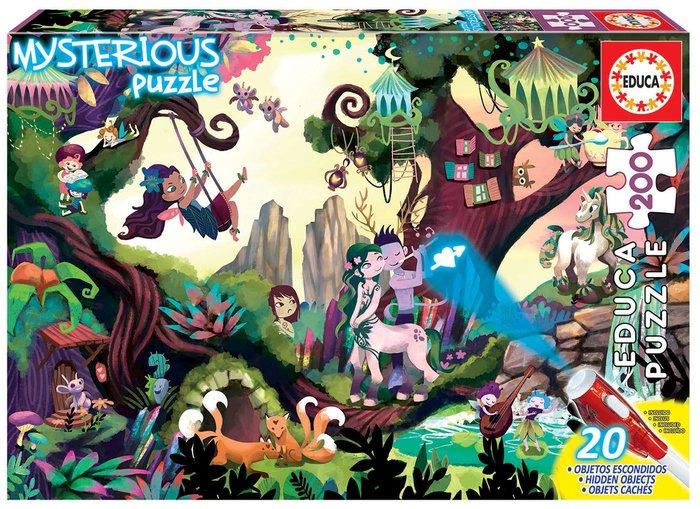 Puzzle 200 piezas misterio junior bosque magico