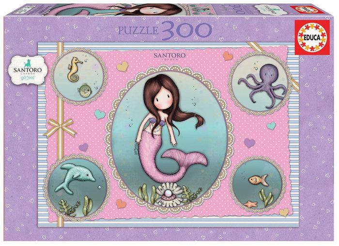 Puzzle 300 piezas gorjuss so nice to sea you