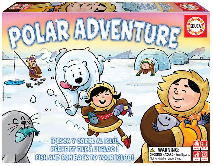 Juego educa aventura polar polar adventure