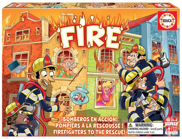 Juego educa fuego!! fire