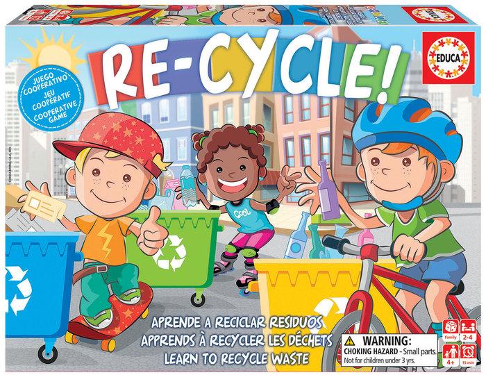 Juego educa re-cycle