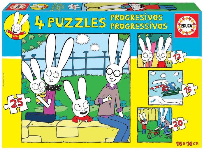 Puzzle educa progresivo simon 12-16-20-25
