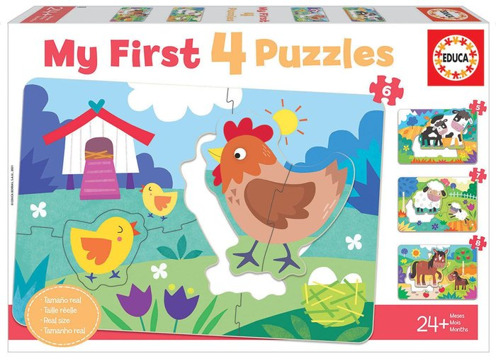 Puzzle educa progresivo mamas y bebes my first puzzles