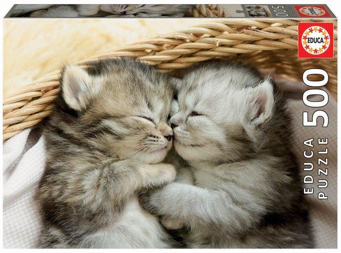 Puzzle educa 500 piezas dulces gatitos
