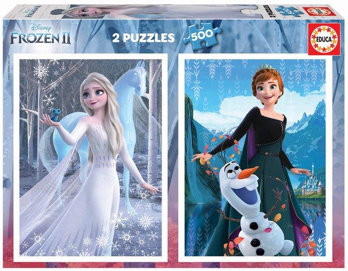 Puzzle educa 2x500 piezas frozen ii