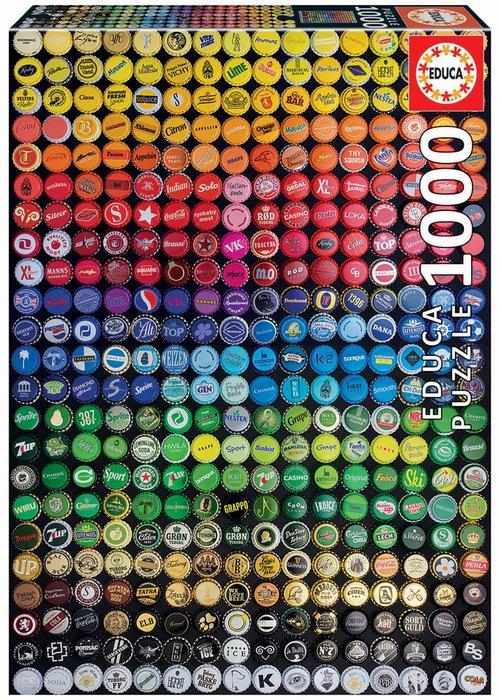 Puzzle educa 1000 piezas collage de chapas