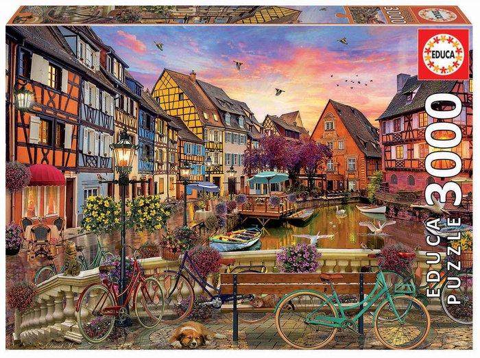Puzzle educa 3000 piezas colmar, francia