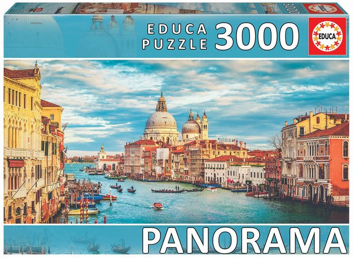 Puzzle eudca 3000 piezas gran canal de venecia panorama