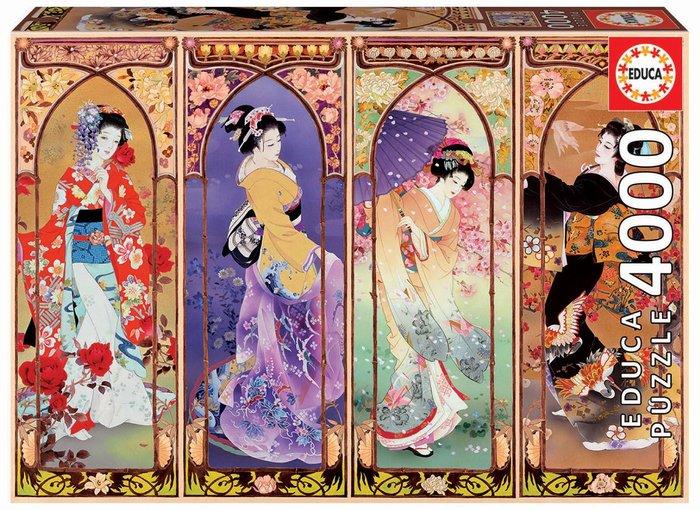Puzzle educa 4000 piezas collage japones