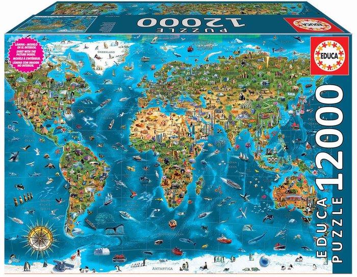 Puzzle educa 12000 piezas maravillas del mundo