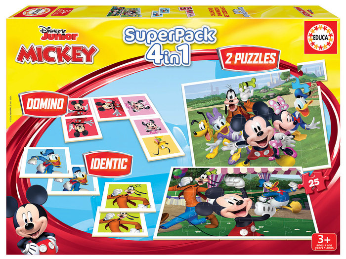 Juego educa superpack mickey and friends