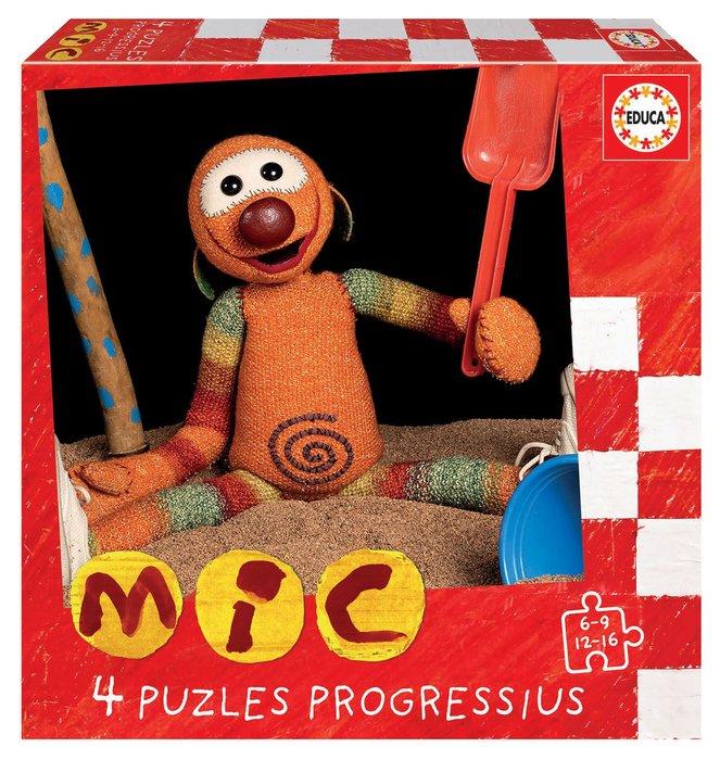 Puzzles progressius mic 6-9-12-16 catalan