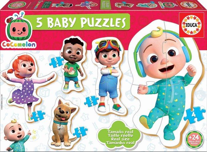 Puzzle educa baby puzzles cocomelon