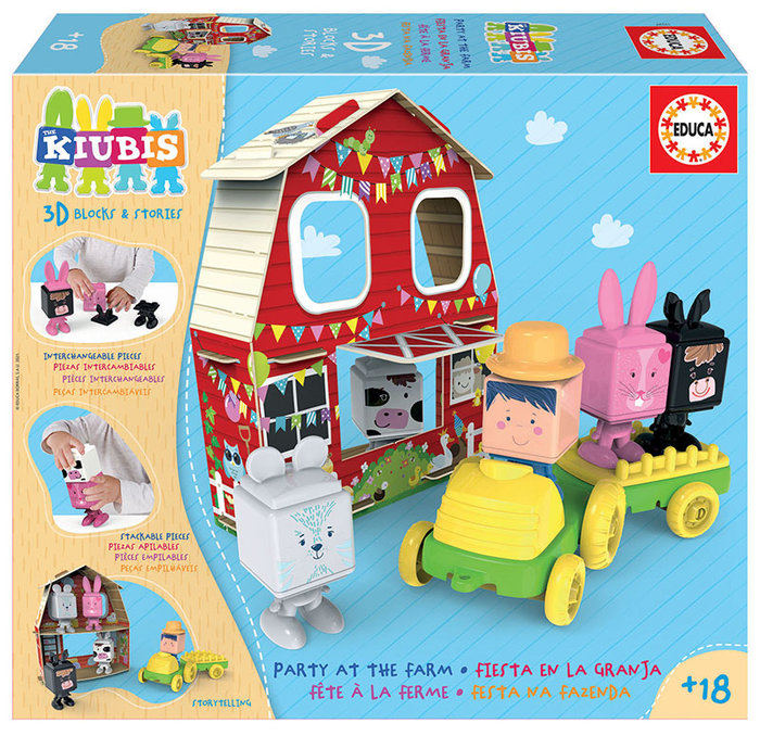Juego fiesta en la granja - the kiubis