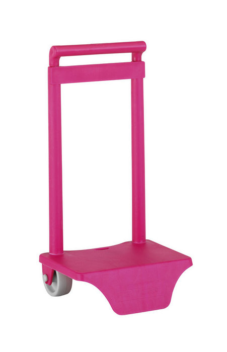 Carro portamochilas 805 rosa fluor