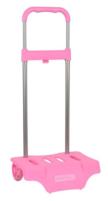 Carro portamochilas rosa claro mod 905