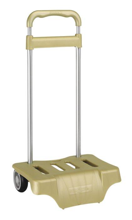 Carro portamochilas oro carro portamochilas