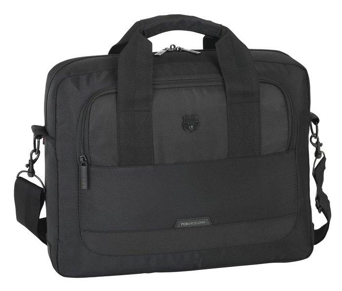 Maletin ordenador 15,6 f c barcelona premium black