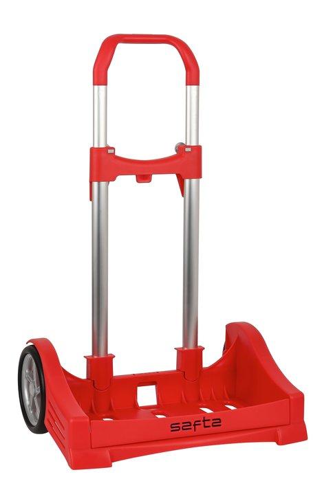 Carro portamochilas evolution rojo carro portamochilas plega