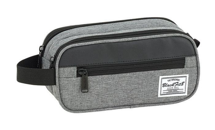 Bolsa accesorios portatil blackfit8 black & grey