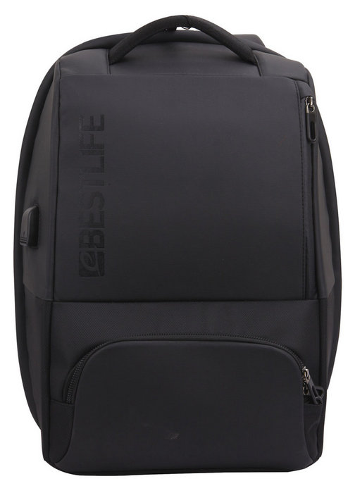 Mochila antirrobo para portatil 15.6 neoton black bestlife
