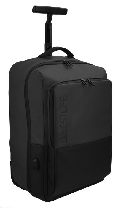 Mochila trolley para portatil 15.6 neoton black bestlife