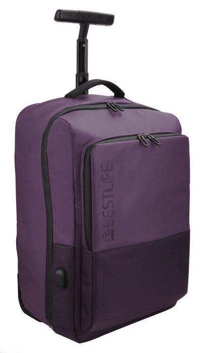 Mochila trolley para portatil 15.6 neoton burgundy bestlife