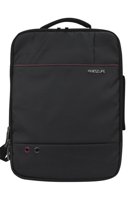 Mochila-maletin para portatil 15.6 quark black bestlife