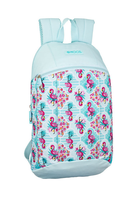 Mini mochila moos flamingo turquoise