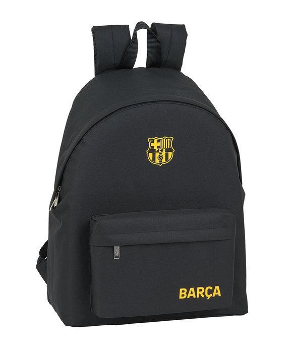 Mochila f c barcelona black