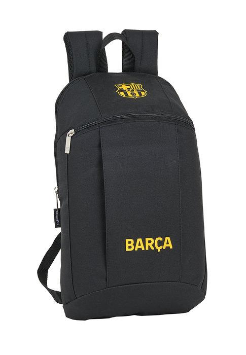 Mini mochila f c barcelona black