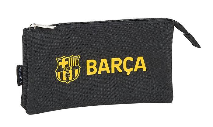 Portatodo triple f c barcelona black