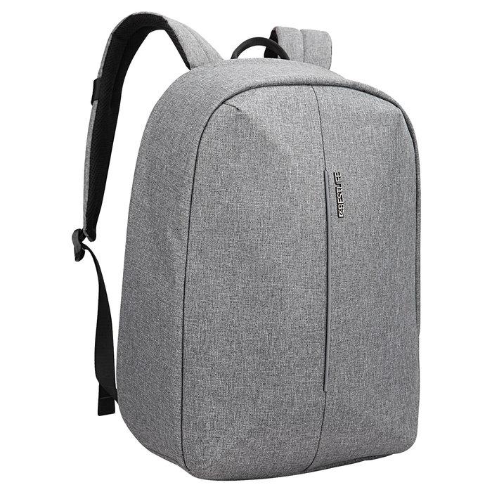 Mochila para portatil 15,6+ tablet barinas grey