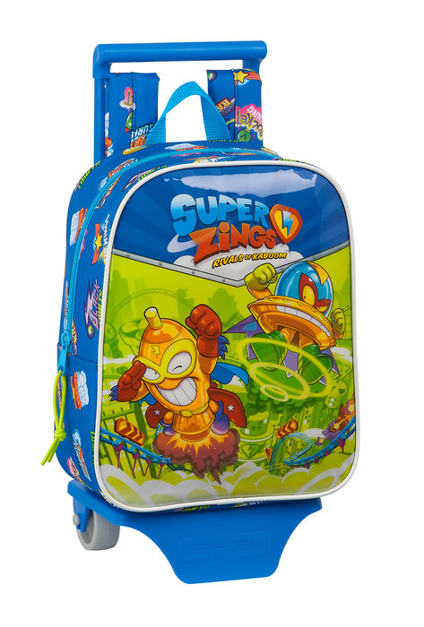 Mochila guarderia con ruedas superzings serie 5
