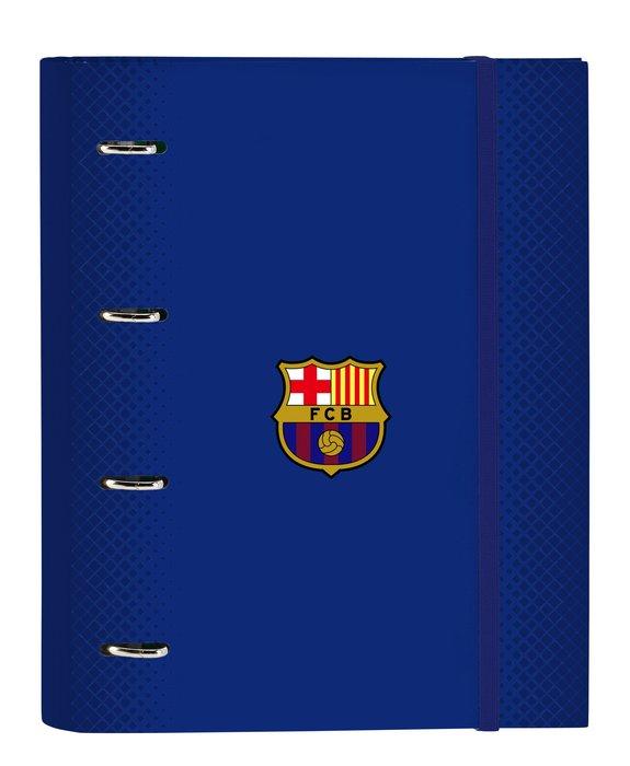 Carpeta 4 anillas de 30mm con recambio a4 100 f c barcelona