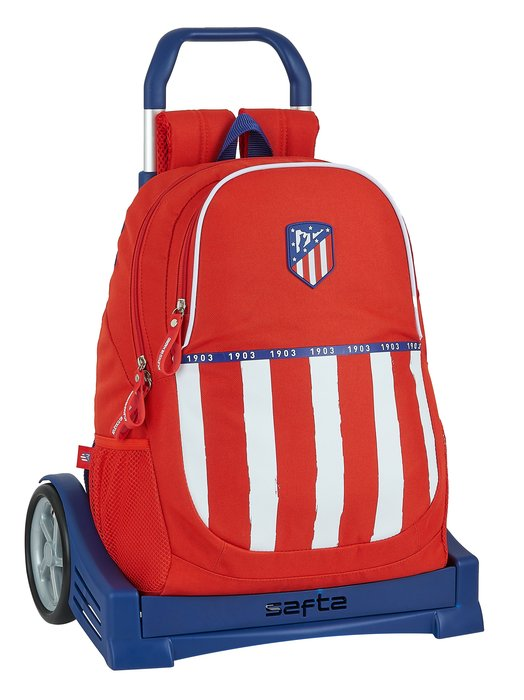 Mochila mod 665 con carro evolution atletico de madrid 1ª eq