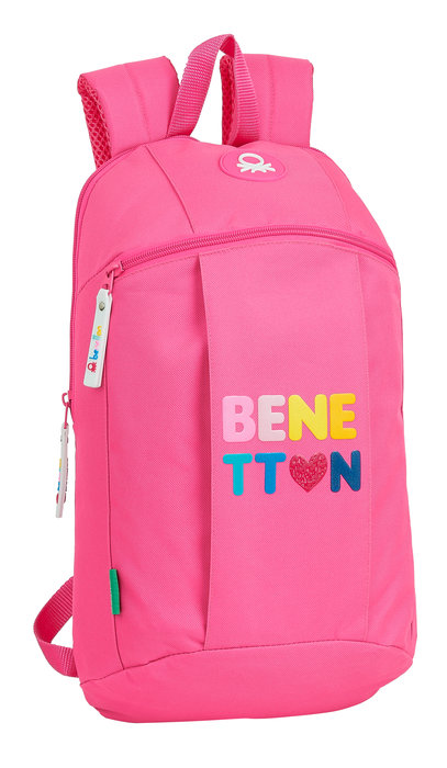 Mini mochila benetton heart