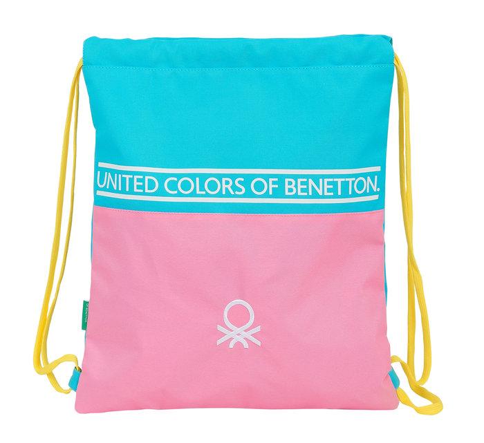 Saco plano benetton color block