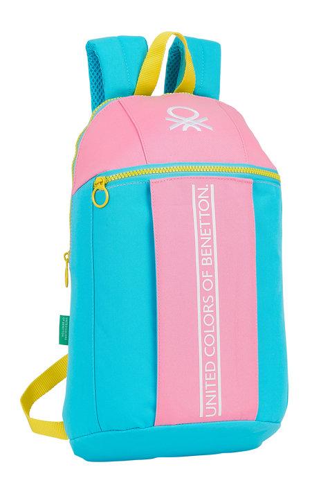 Mini mochila benetton color block