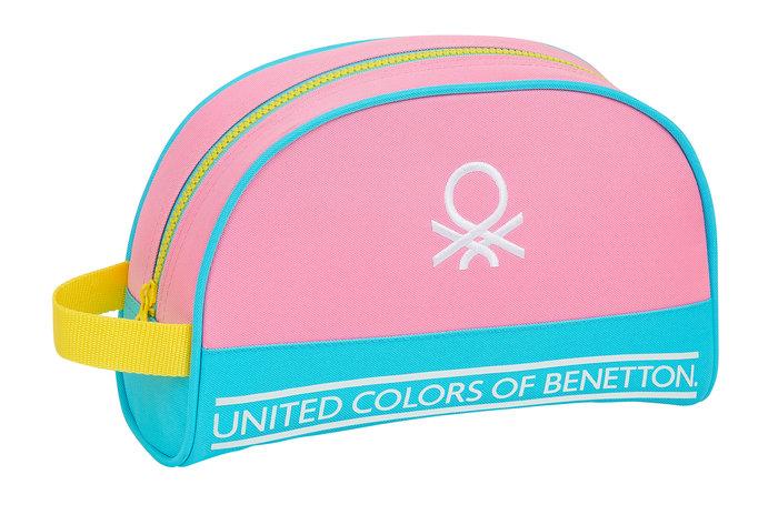 Neceser adaptable a carro benetton color block