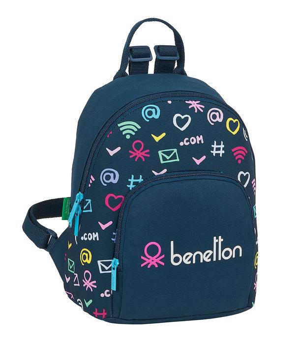 Mini mochila benetton dot com