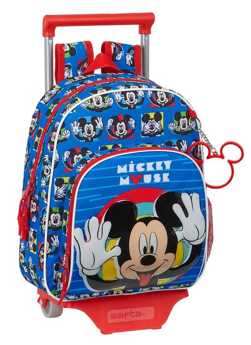 Mochila 609 con carro 705 mickey mouse me time