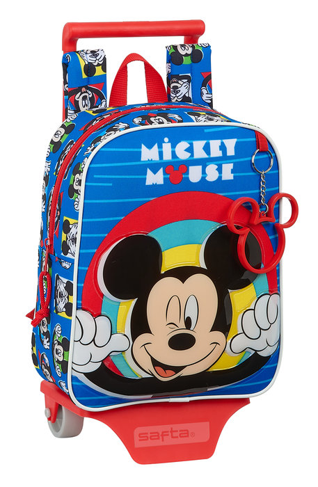 Mochila guarderia con ruedas mickey mouse me time