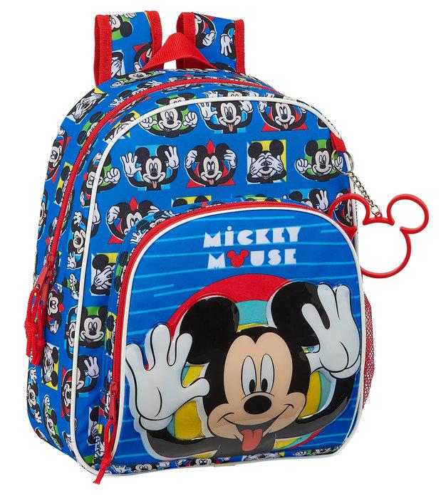 Mochila infantil adaptable a carro mickey mouse me time
