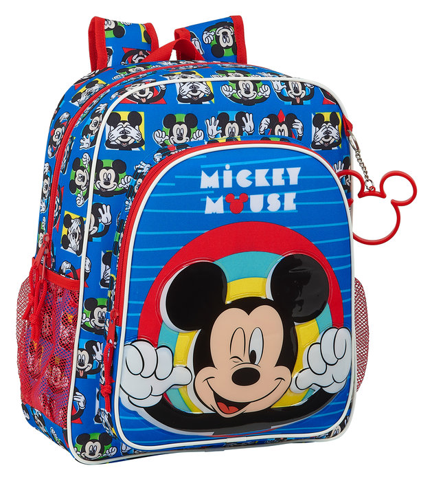 Mochila junior adaptable a carro mickey mouse me time