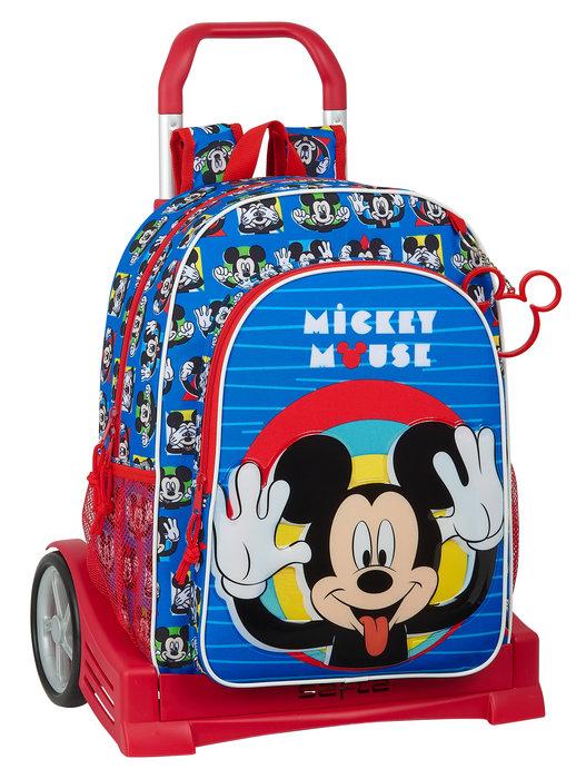 Mochila mod 180 con carro evolution mickey mouse me time